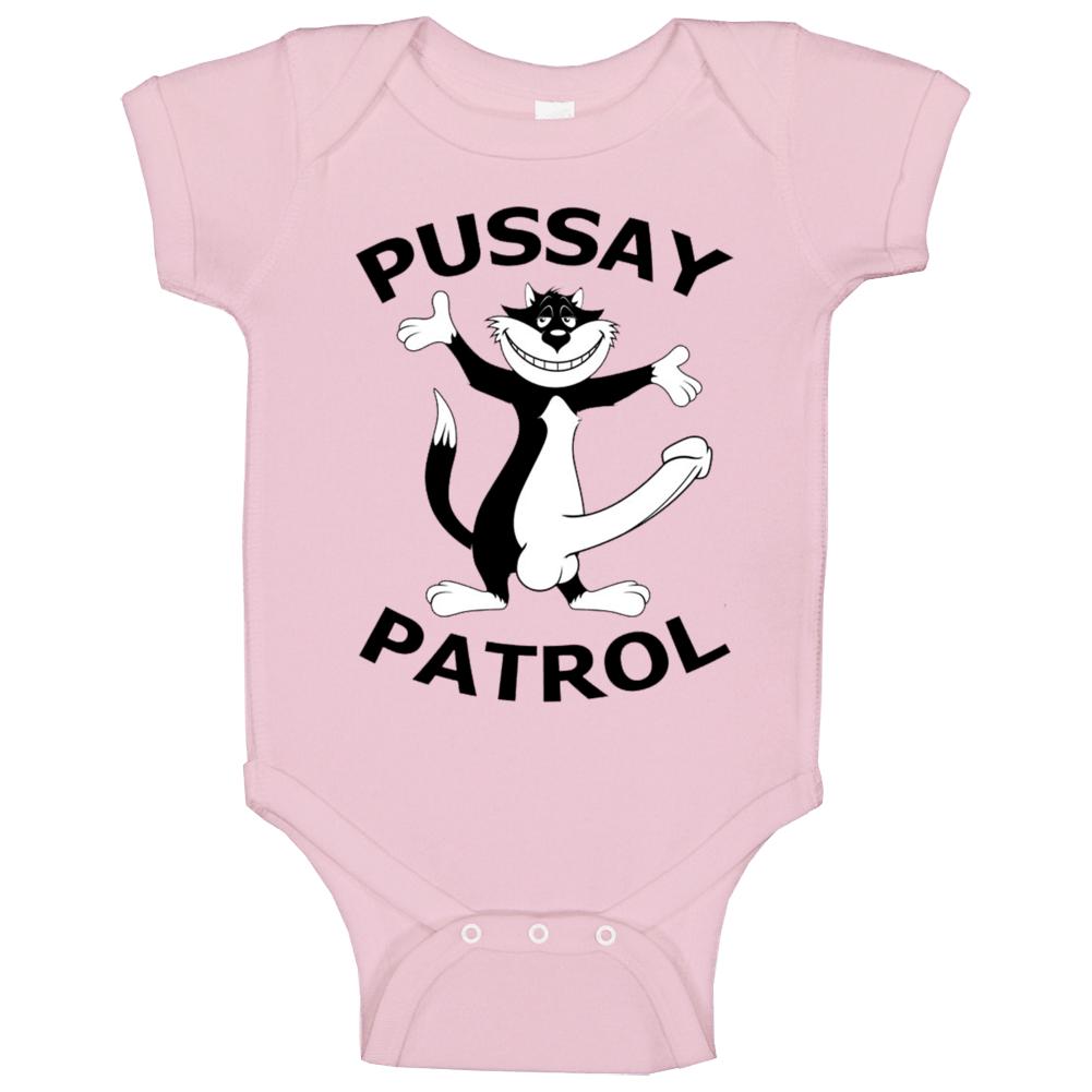 Pussay Patrol Funny The Inbetweeners Movie Baby One Piece