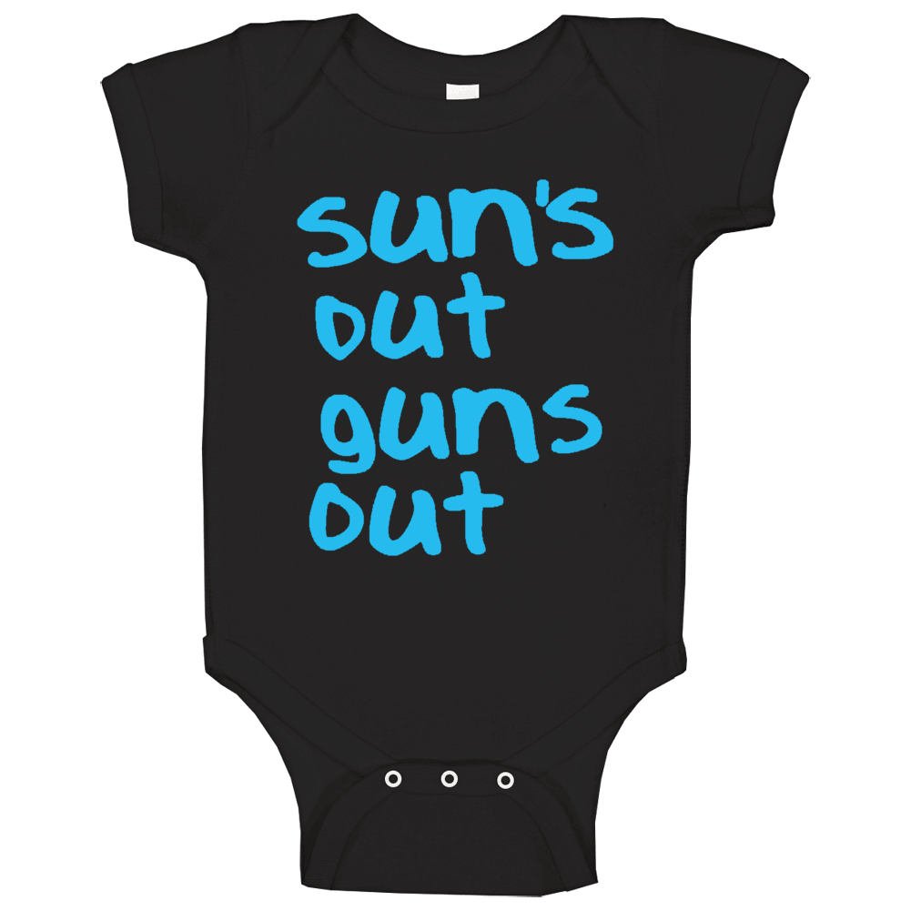 Suns Out Guns Out Popular 22 Jump Street Movie Baby One Piece