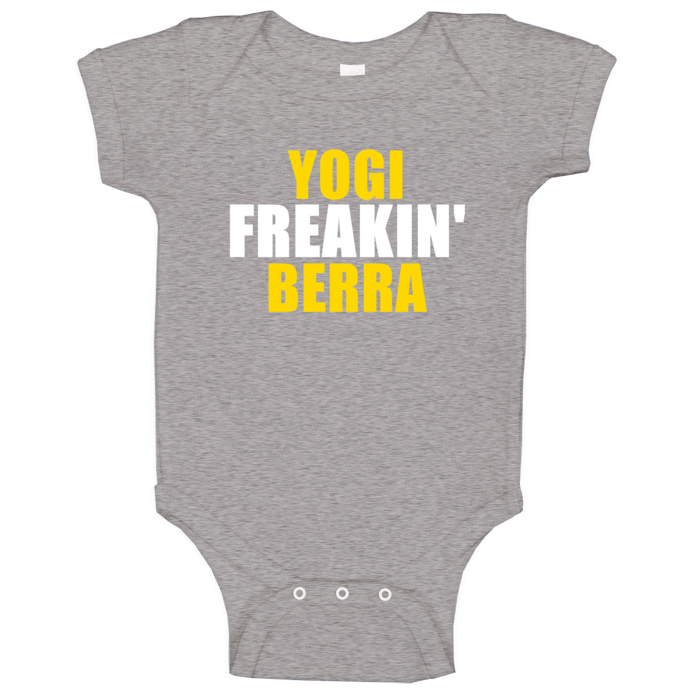 Yogi Freakin Berra  Hall Of Fame Sports Baby One Piece