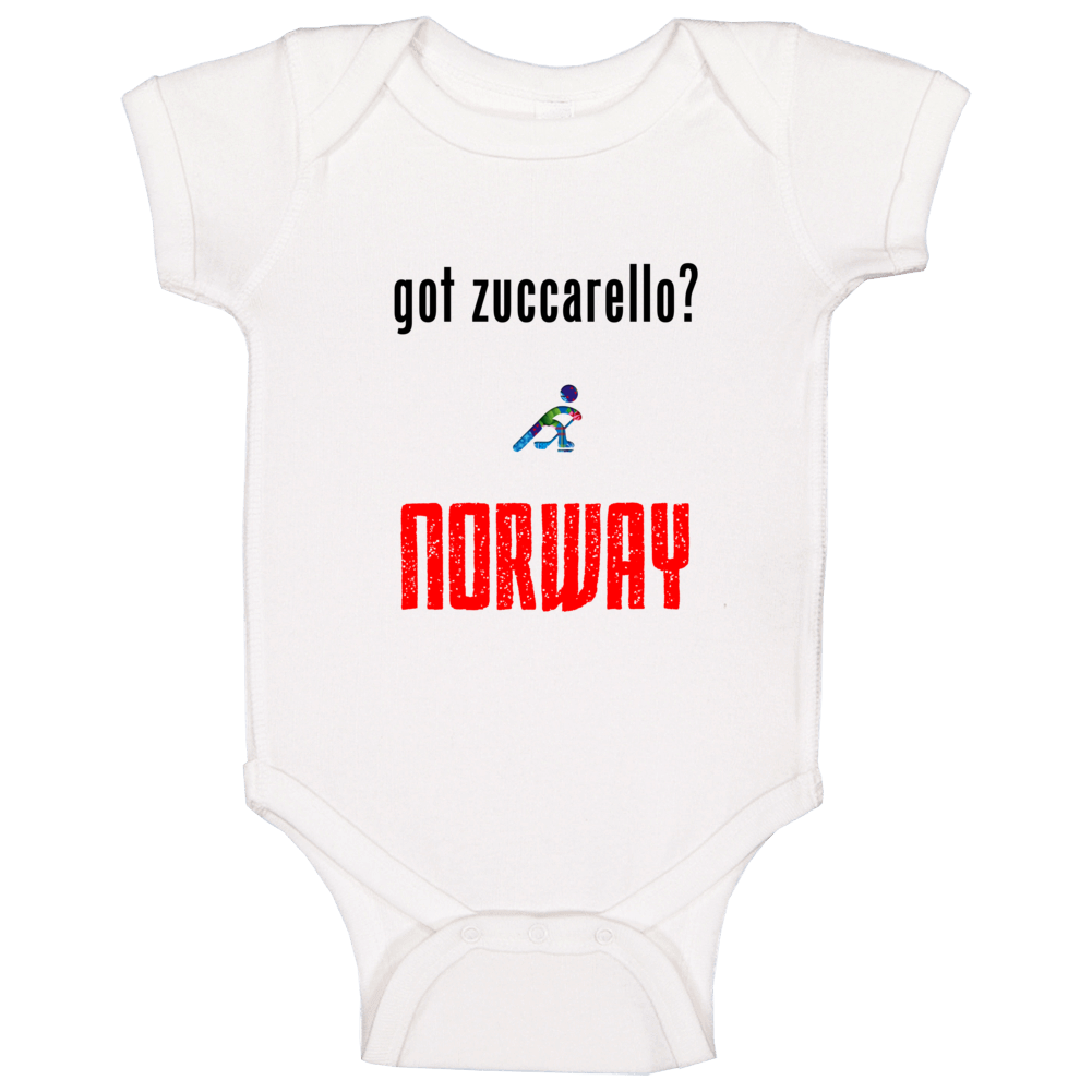 Mats Zuccarello Norway Got Hockey Baby One Piece