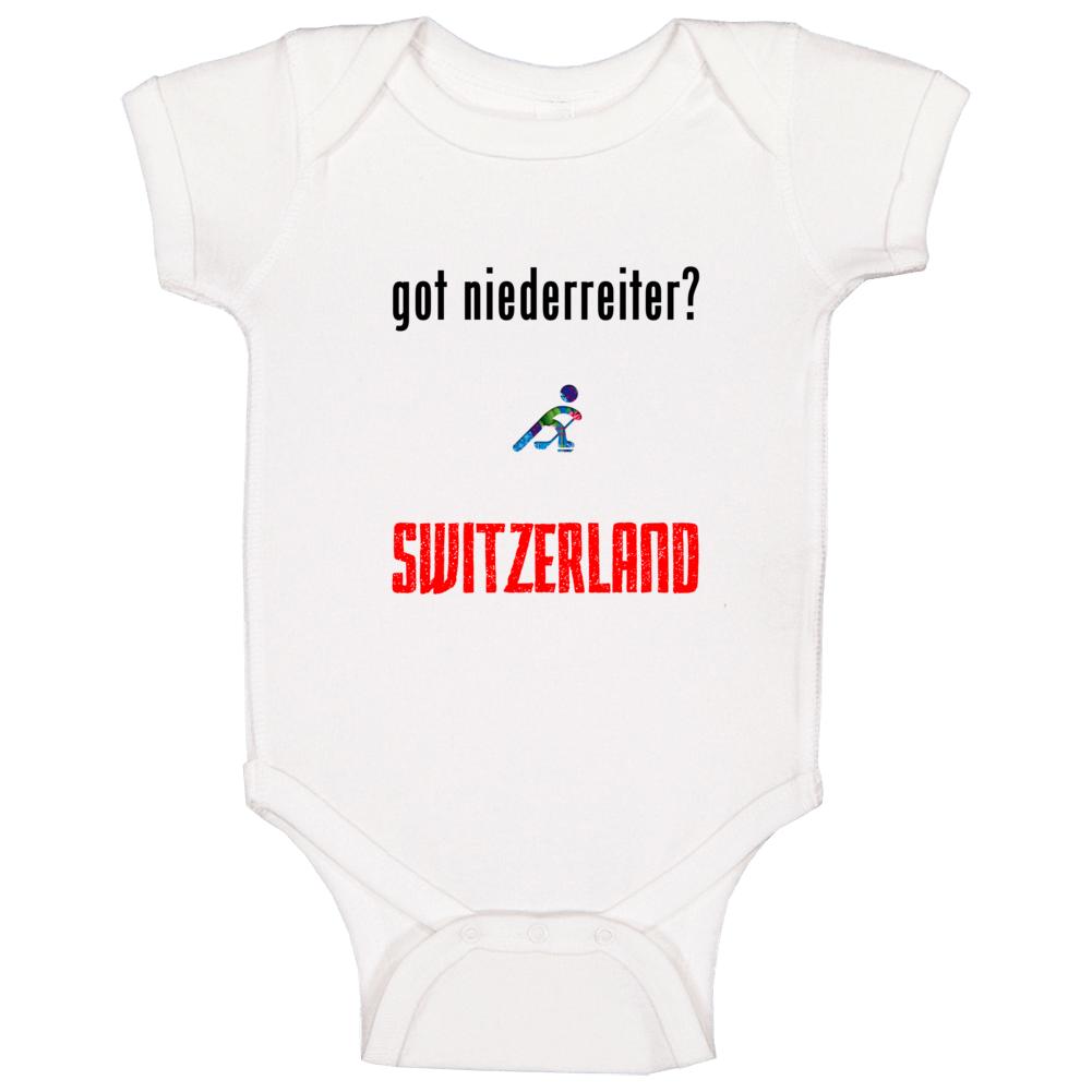 Nino Niederreiter Switzerland Got Hockey Baby One Piece
