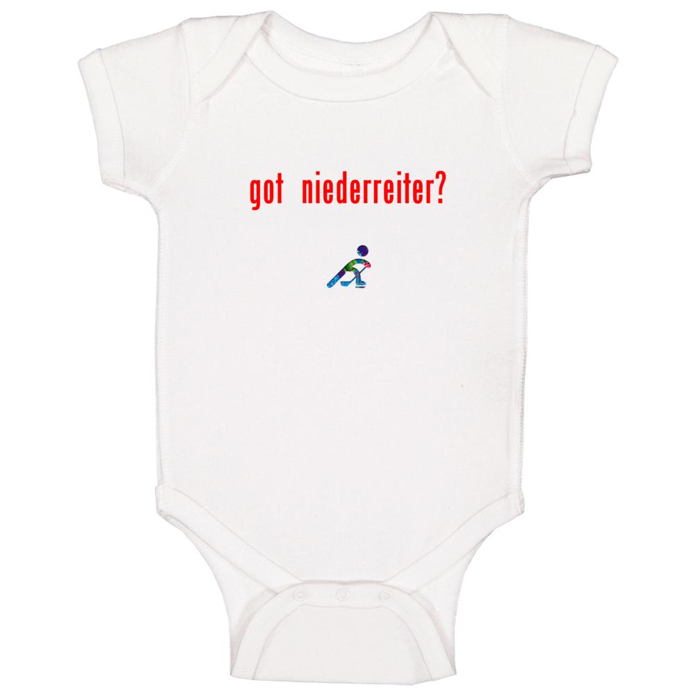 Nino Niederreiter Switzerland Got Olympic Hockey Baby One Piece