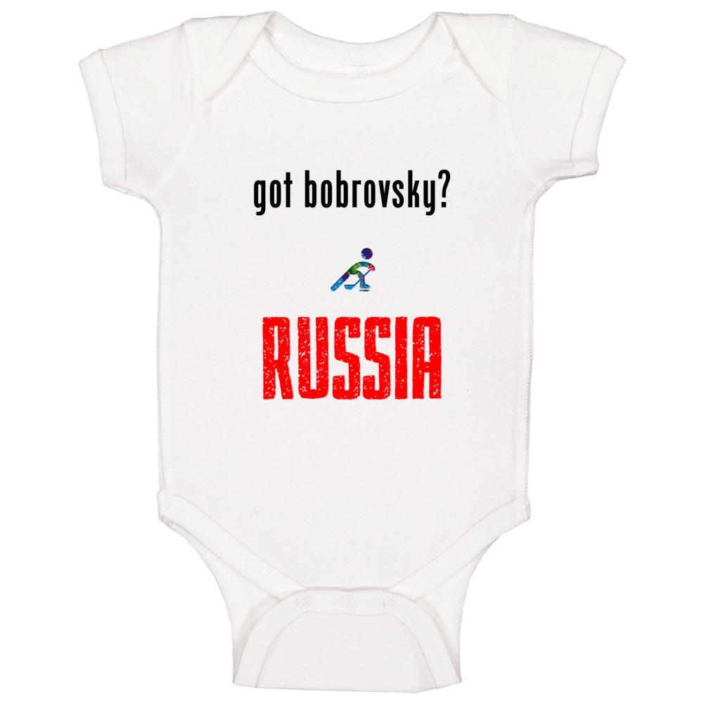 Sergei Bobrovsky Russia Got Hockey Baby One Piece