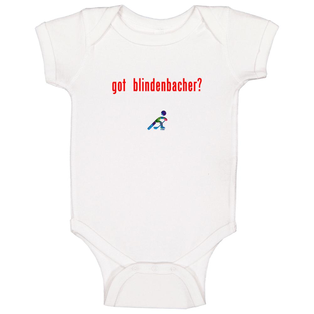 Severin Blindenbacher Switzerland Got Olympic Hockey Baby One Piece