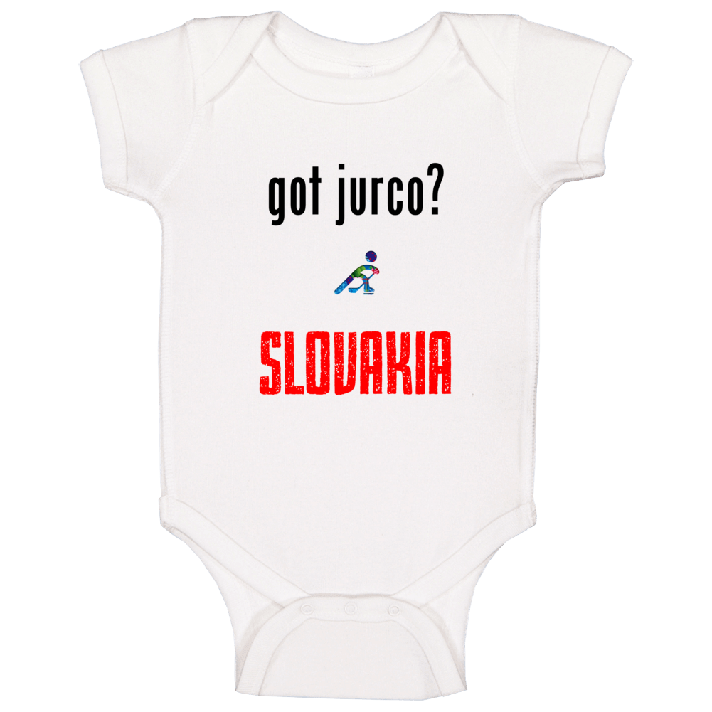 Tomas Jurco Slovakia Got Hockey Baby One Piece