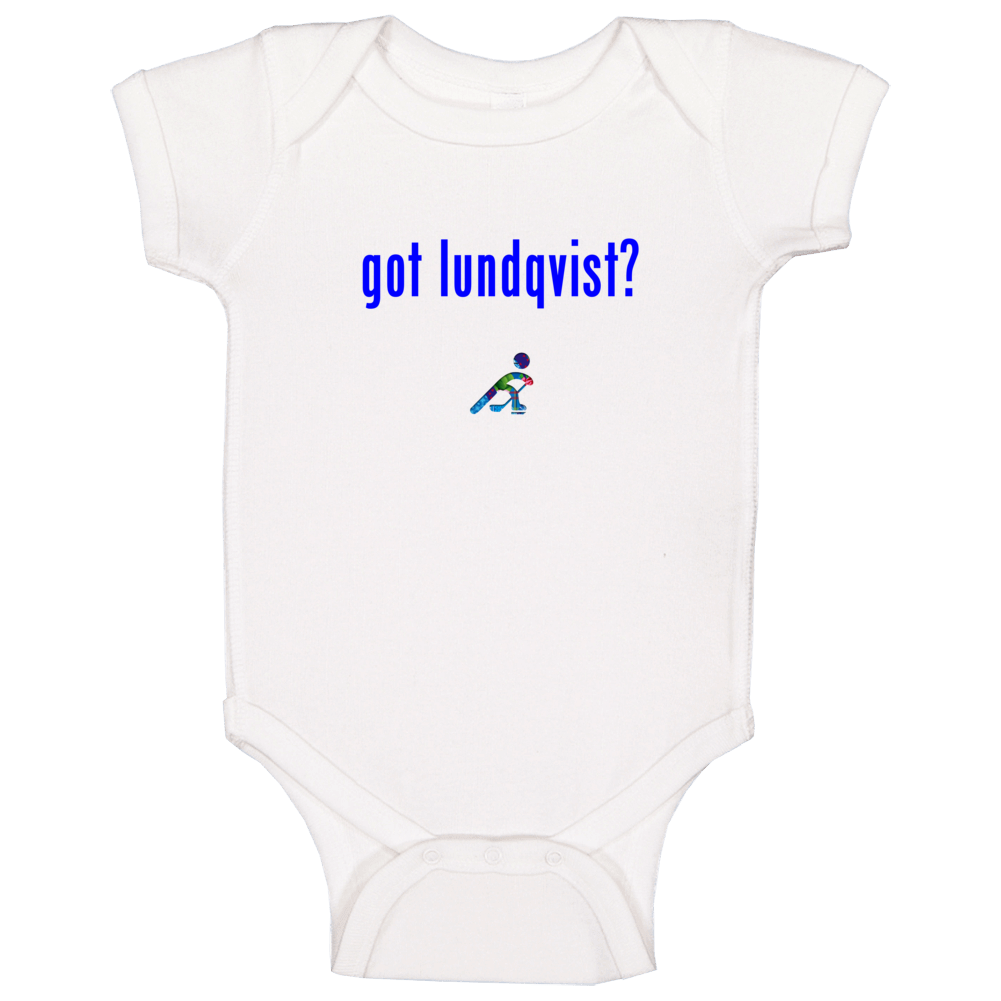 Henrik Lundqvist  Sweden Got Hockey Baby One Piece
