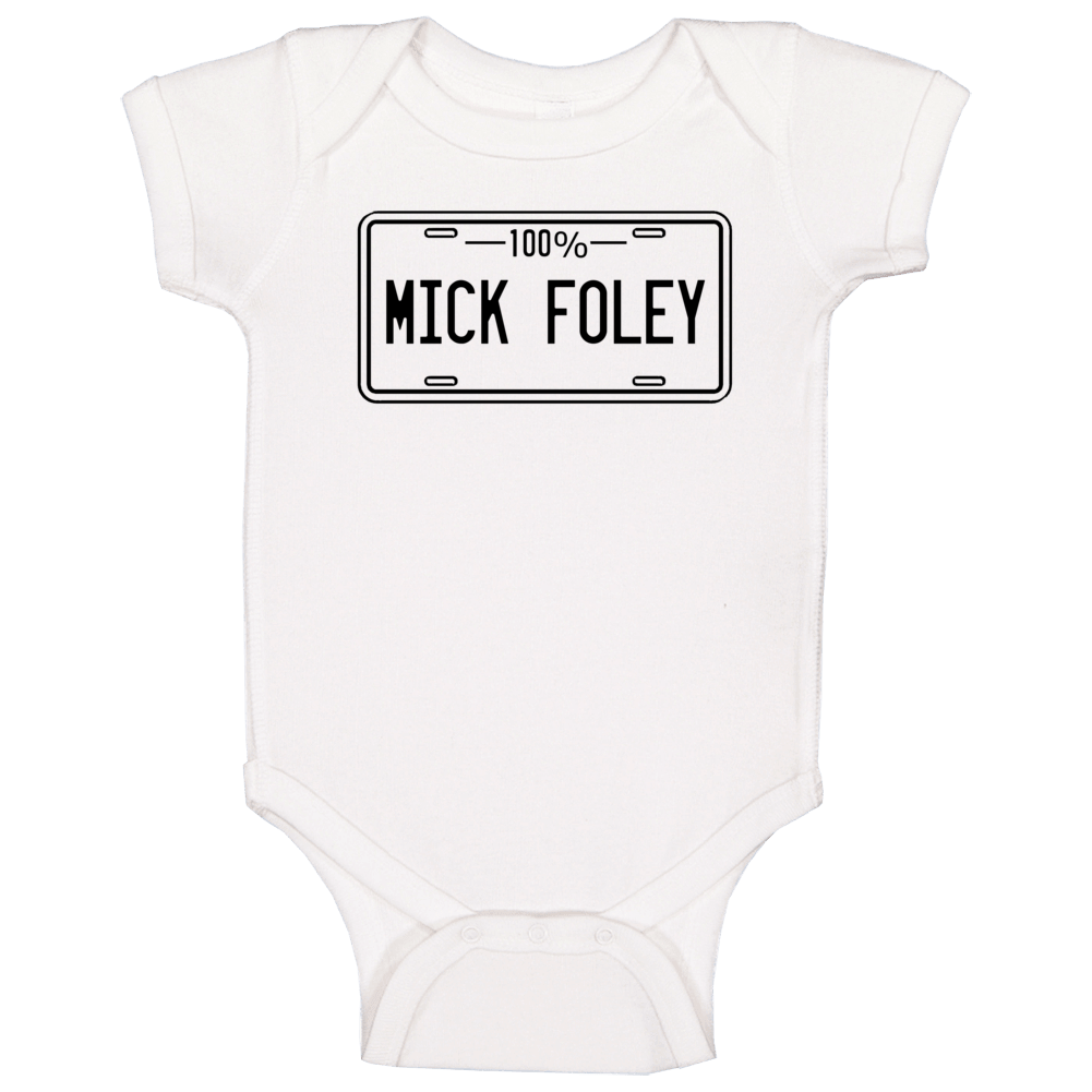 100 Percent Mick Foley Wwe Hall Of Fame Baby One Piece