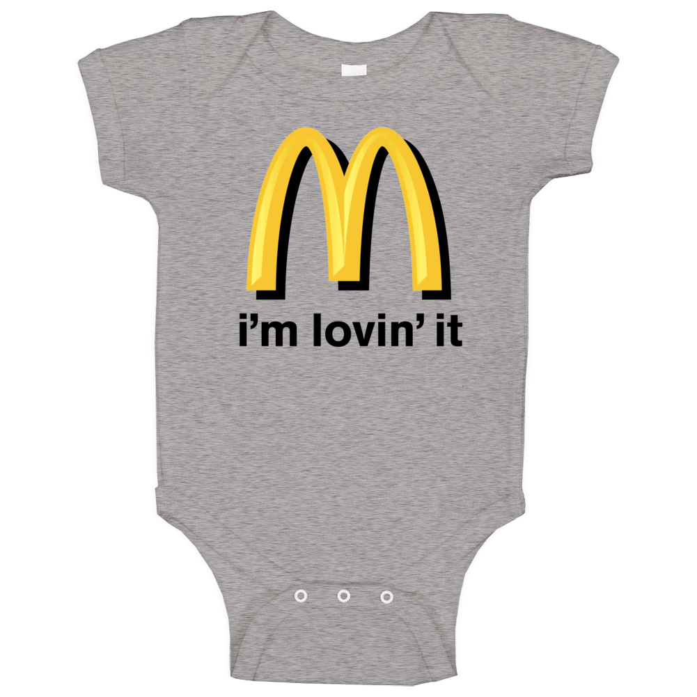 Mcdonalds Logo Baby One Piece