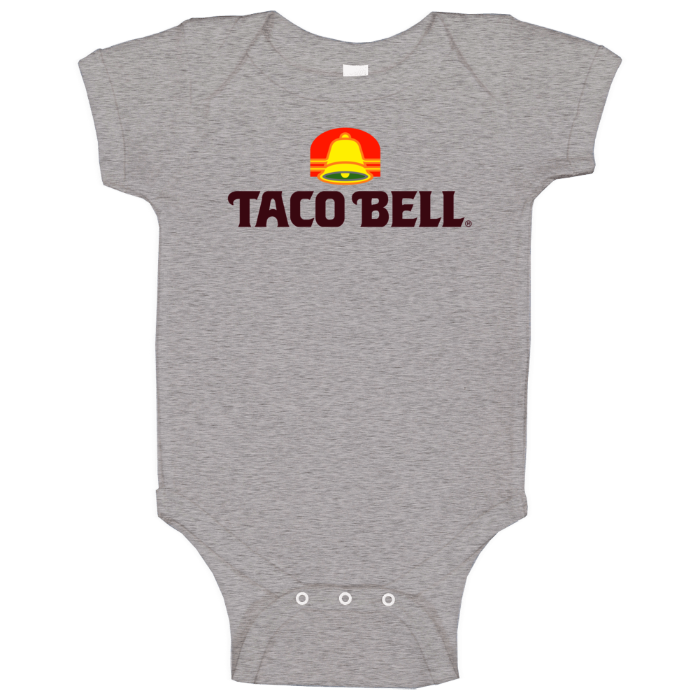 Vintage Taco Bell Logo Baby One Piece