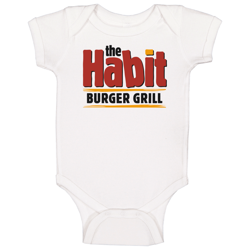 The Habit Burger Grill Fast Food Restaurant Baby One Piece