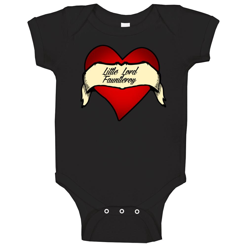 Little Lord Fauntleroy Heart Tattoo Favorite Novel Fan Baby One Piece