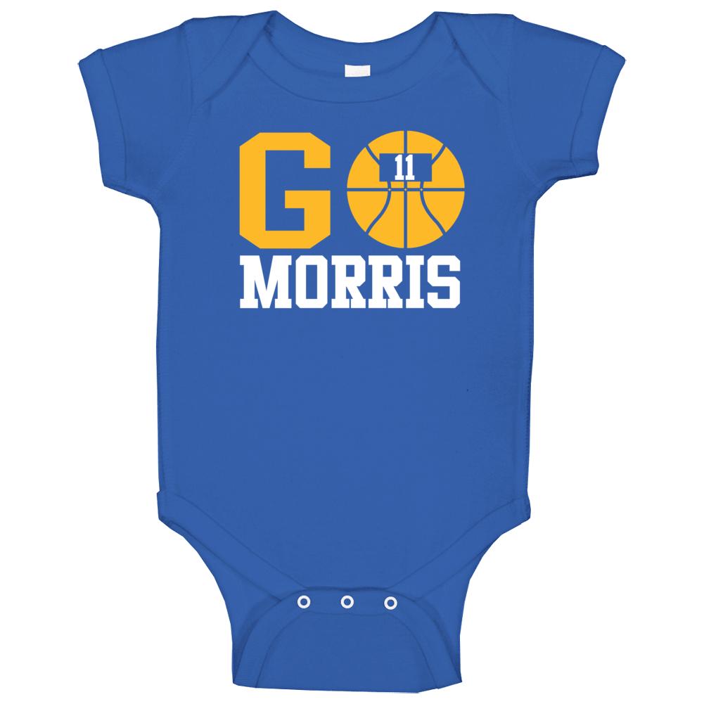 Monte Morris Go Denver Basketball Team Fan Sports Baby One Piece