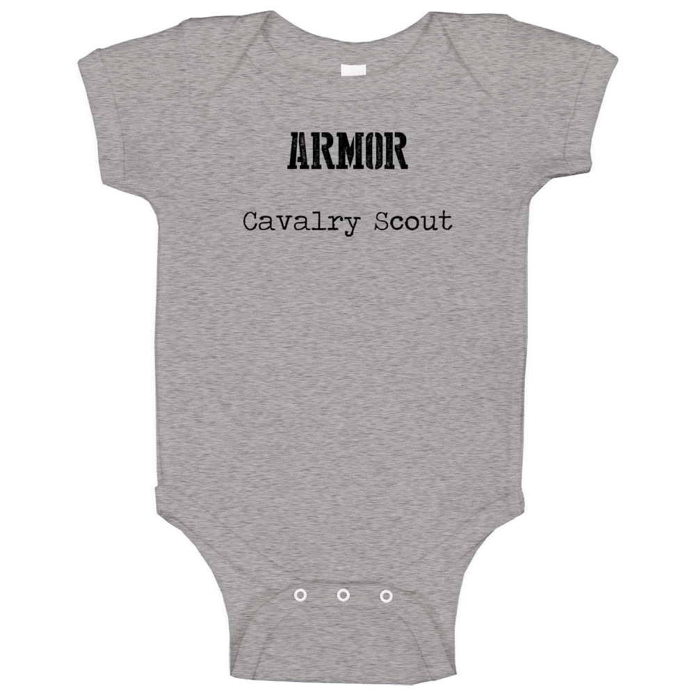 Cavalry Scout Us Army Military Occupation Baby One Piece