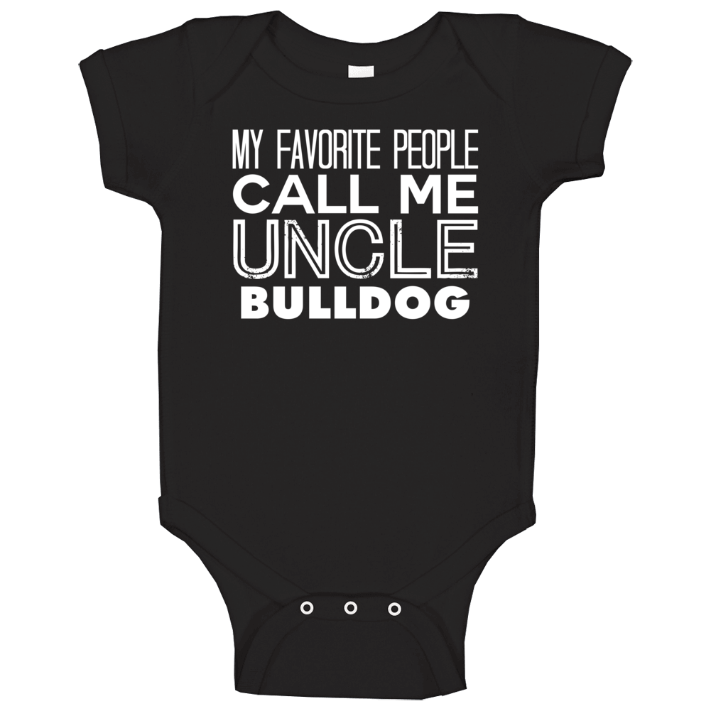 Favorite Uncle Bull Trendy Cool Name Baby One Piece