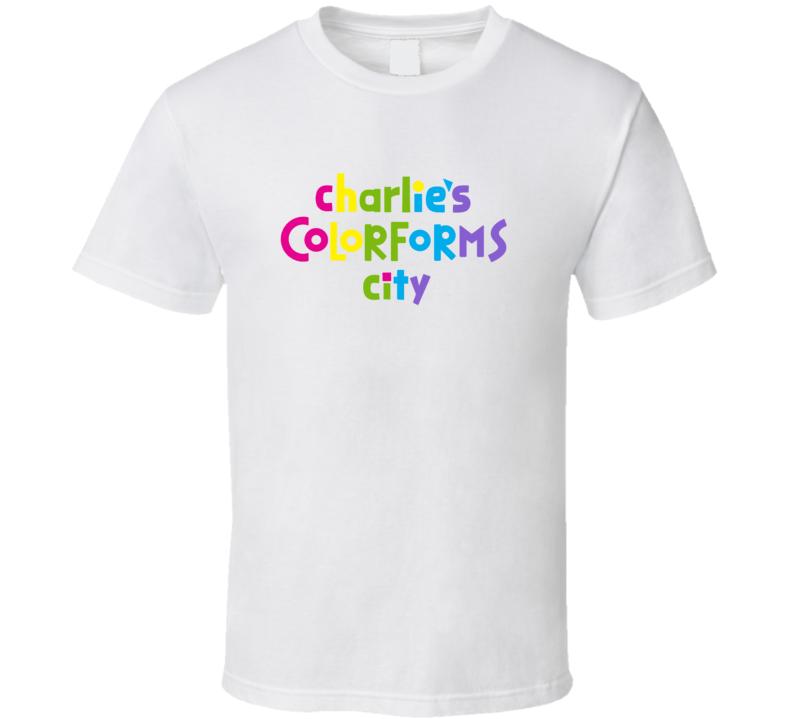 Charlie's Colorforms City Netflix Original Series Fan T Shirt