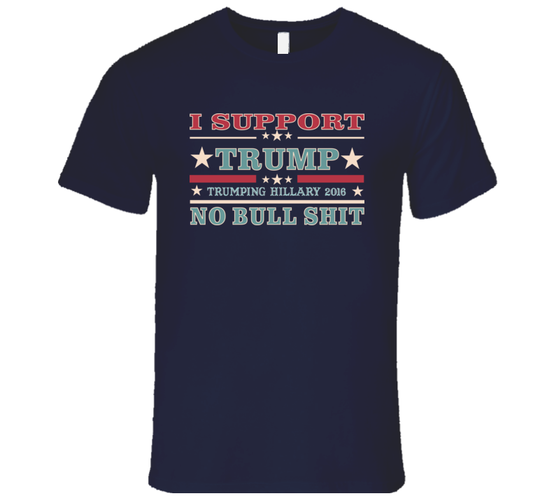 I Support Donald Trump - Mens Fitted Tshirt