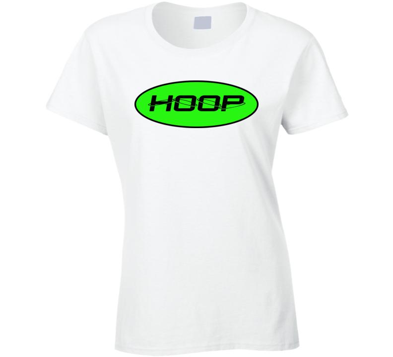 Womans - Hoop - Lime Green T Shirt