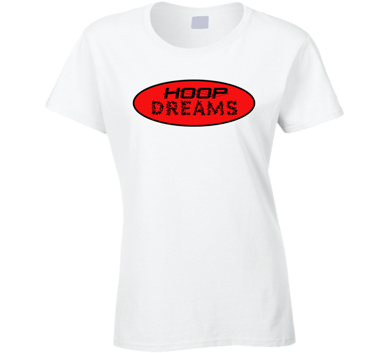 Womans - Hoop Dreams - Red T Shirt