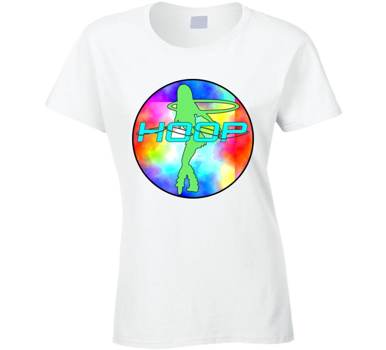 Hula Hoop Dance - Hoop Tie Dye Circle T Shirt