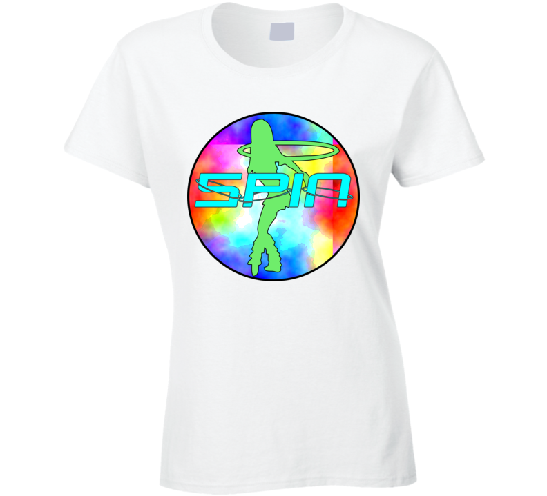 Womans - Hula Hoop Dance - Spin Shirt