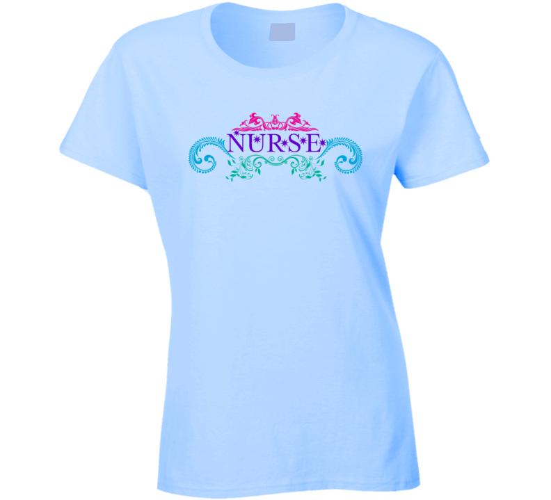 Womans - Fitted - Nurse RN LPN LVN Shirt