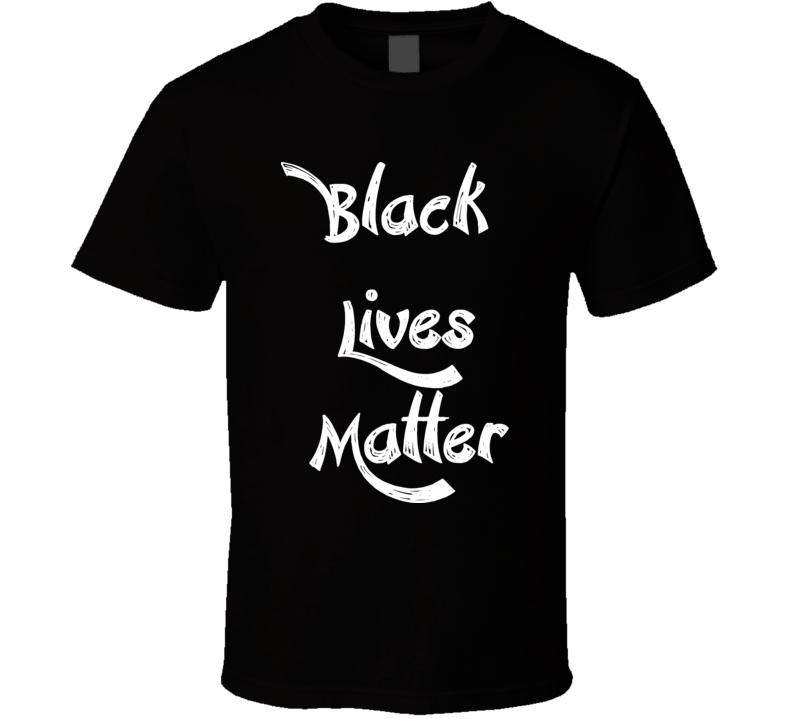 Unisex - Black Lives Matter - Black T Shirt