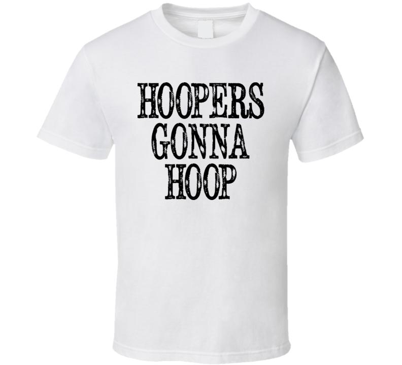 Mens - Hoopers Gonna Hoop - Hula Hoop Shirt