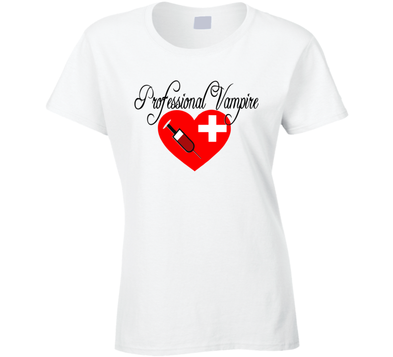 Phlebotomist - Professional Vampire Shirt - Juniors Fit - Phlebotomy