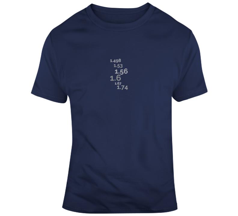 Refractive Index T Shirts