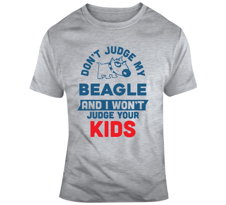 Don'€™t Judge Classic Grey 0703 T Shirt