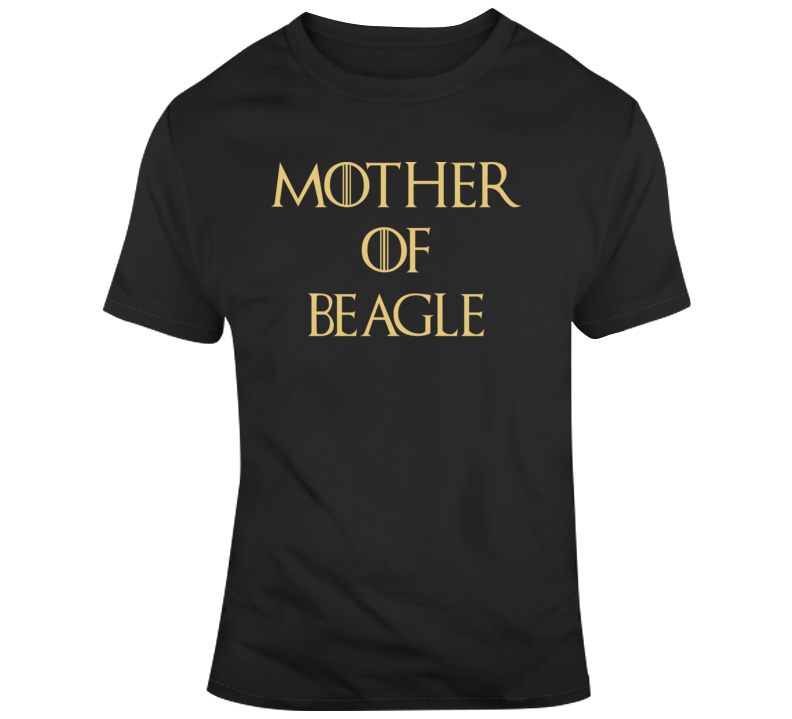 Mother Of Beagle Black 0703 T Shirt