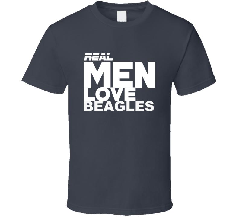 Real Men Love Beagles 0719 T Shirt