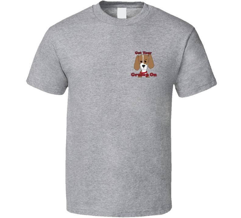 Get Your Grump On Mini Classic Grey 0720 T Shirt