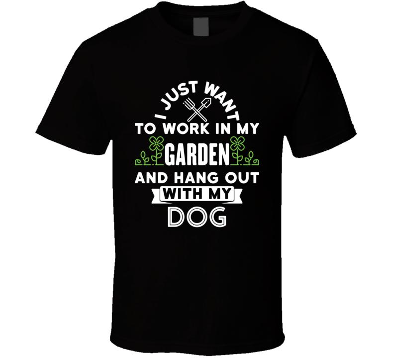 Garden Dog 0720 Claassic T Shirt