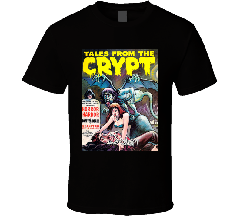 Tales From The Crypt Horror Harbor Comic Book Tv Show Fan T Shirt
