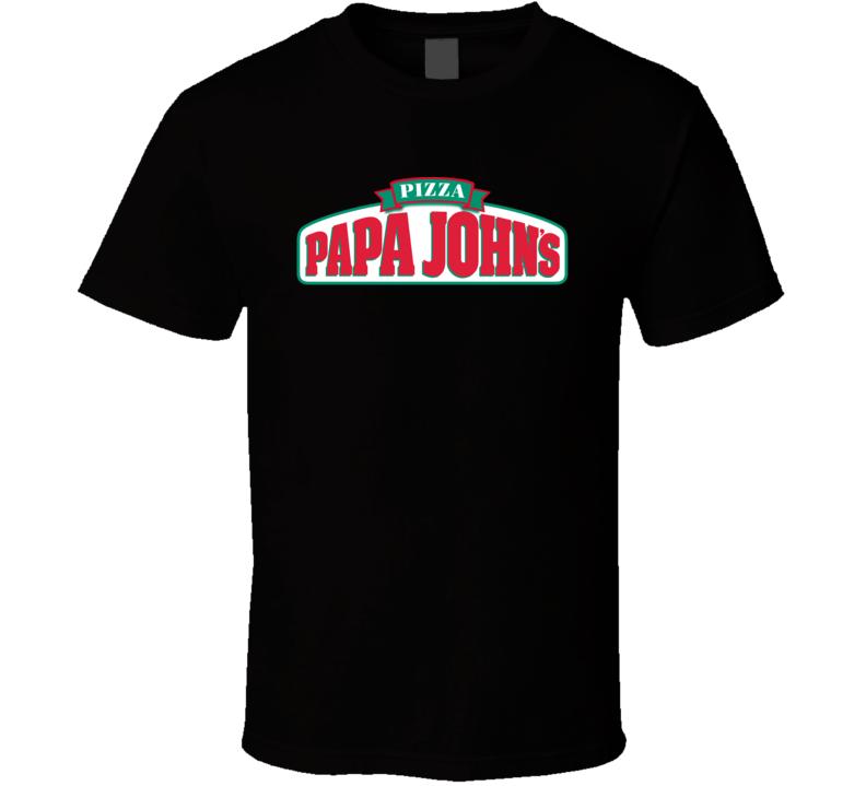Papa John's Restaurant Foodie Tour Brand Logo Fan T Shirt