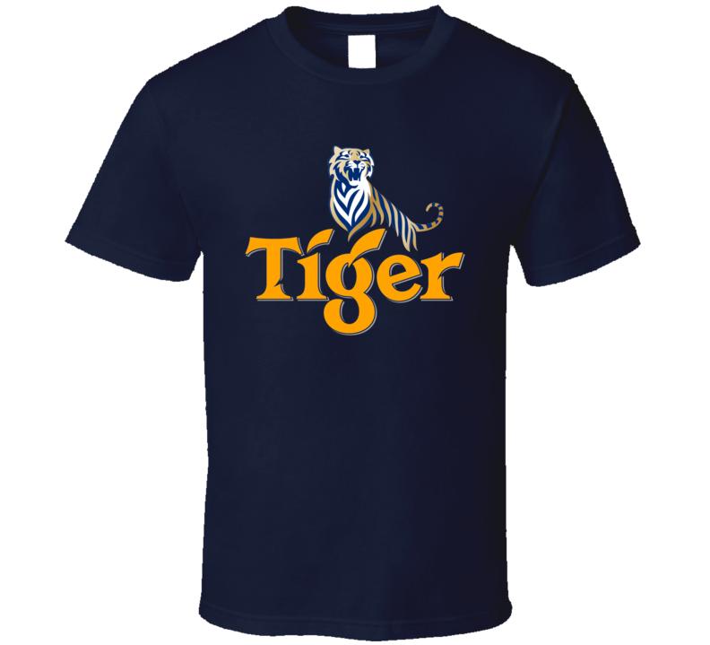 Tiger Beer Singapore Southeast Asia Fan T Shirt