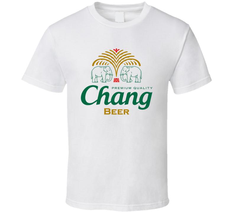 Chang Beer Southeast Thailand Fan T Shirt