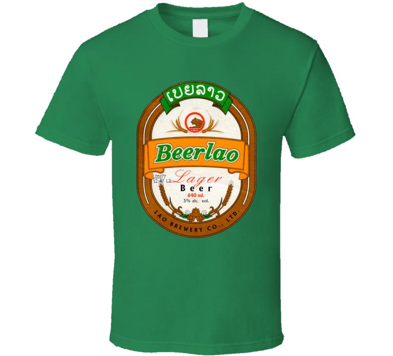 Beerlao Beer Southeast Asia Laos Fan T Shirt
