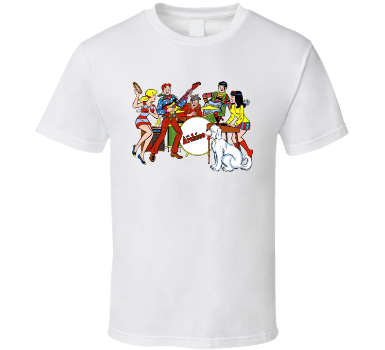 The Archies Fictional Music Group Fan T Shirt