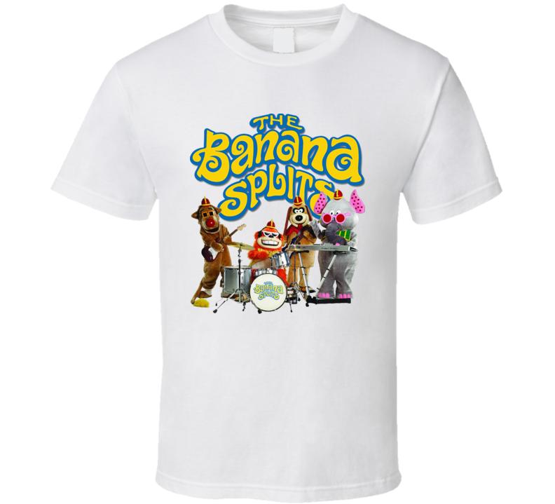 The Banana Splits Adventure Hour Fictional Music Group Fan T Shirt