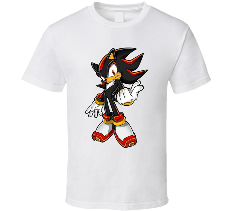 Shadow Sonic Adventure 2 Video Game Character T Shirt