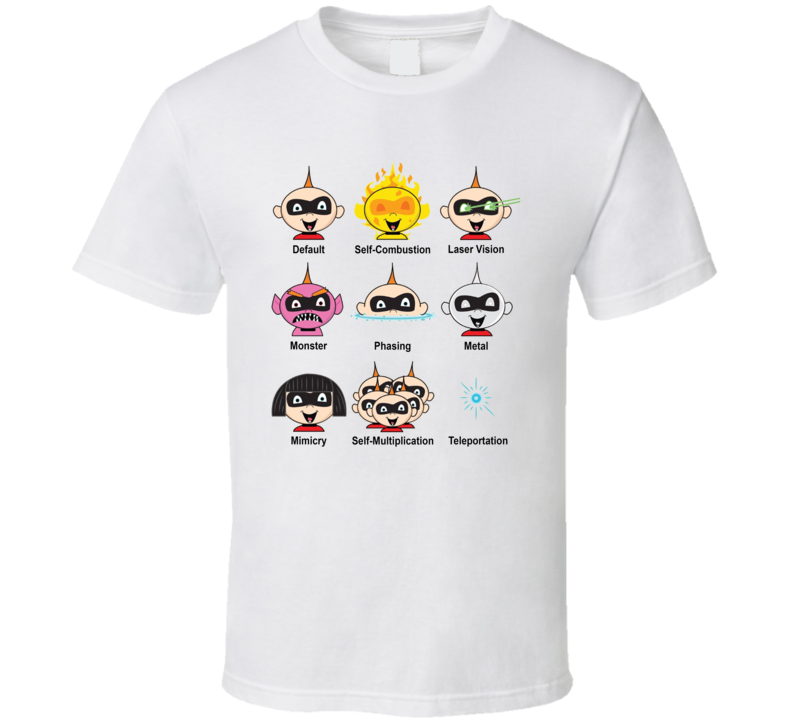 Jack Jack Attack Incredibles 2 Movie Fan T Shirt