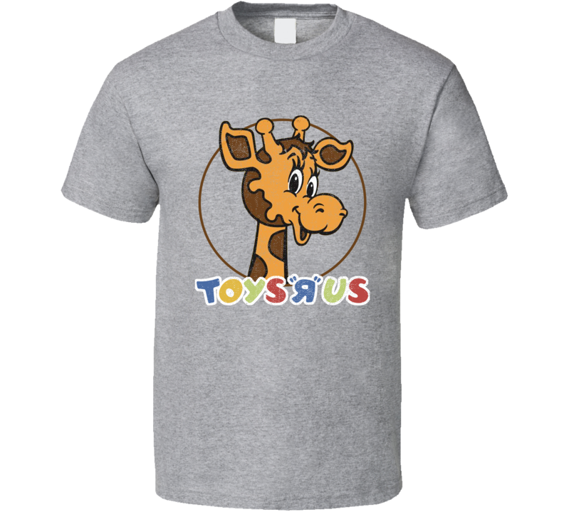 Vintage Distressed Toys R Us Logo Fan T Shirt