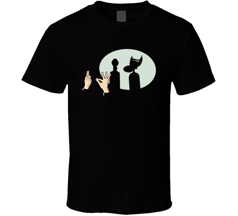 Mystery Science Theater 3000 Silhouette Netflix Original Fan T Shirt