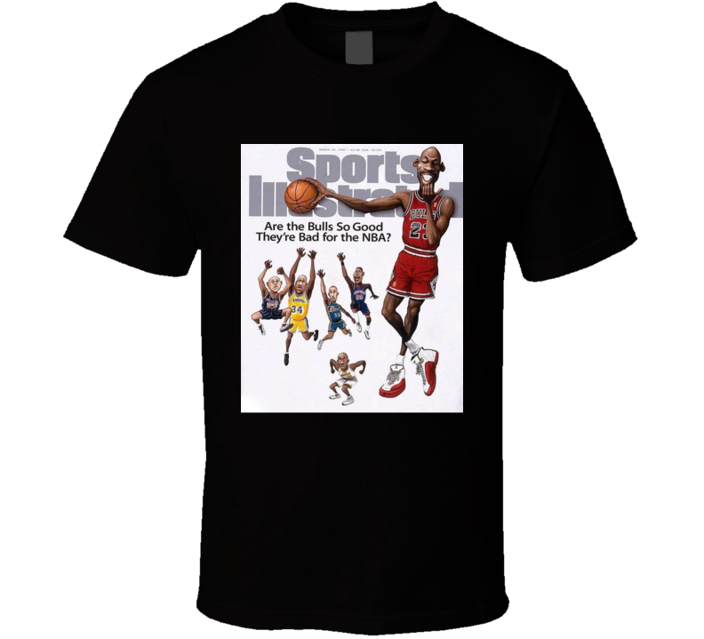 1997 Sports Illustrated Michael Jordan Fan T Shirt