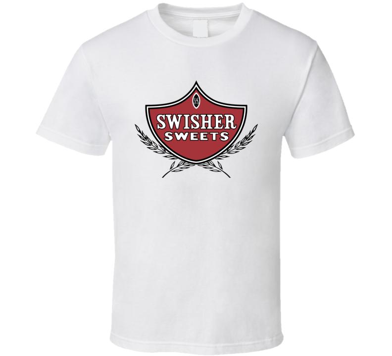 Swisher Sweets Cigars Blunt Cannabis Tobacco 420 Friendly Fan T Shirt