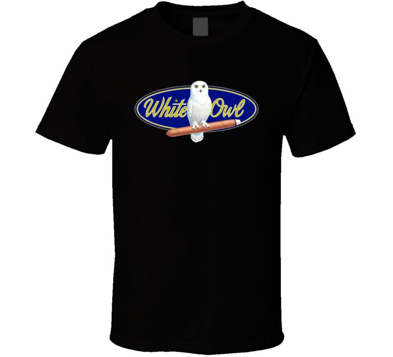 White Owl Cigars Blunt Cannabis Tobacco 420 Friendly Fan T Shirt