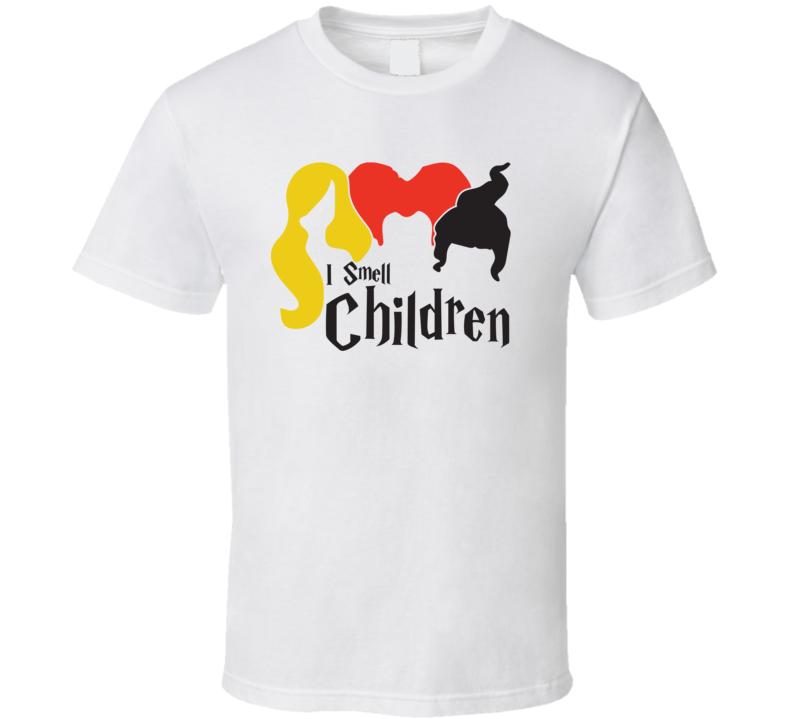 I Smell Children Hocus Pocus The Sanderson Sisters Halloween T Shirt