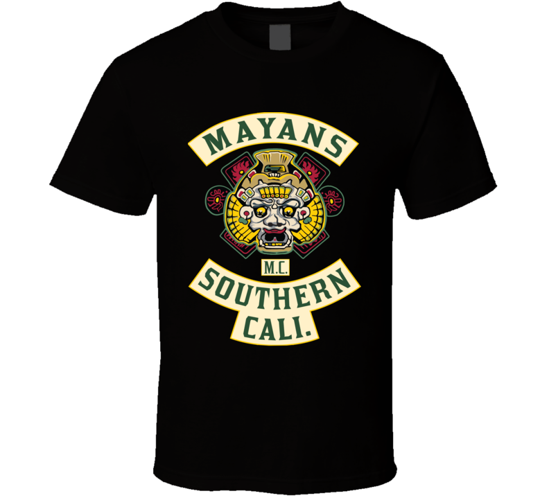 Mayans Southern Cali Sons Of Anarchy Spinoff Jacket T Shirt